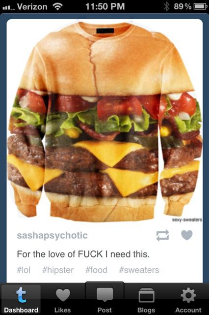cheeseburger jacket