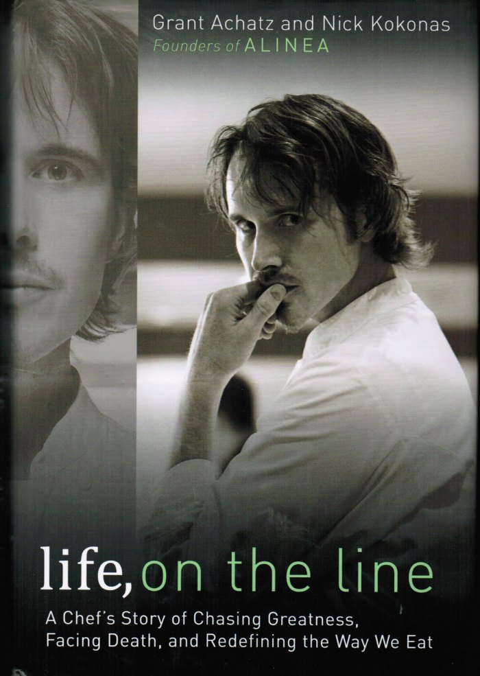 life on the line food book