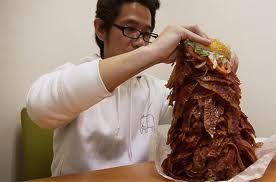 world's largest bacon sandwich