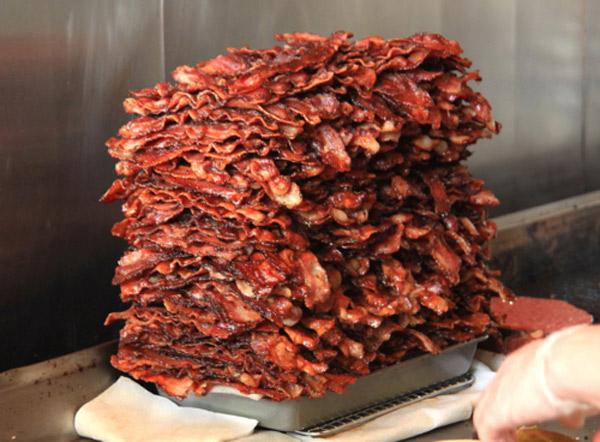 BACON - Huge Pile of Bacon